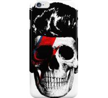 David Bowie (Ziggy Stardust) Skull iPhone Case/Skin