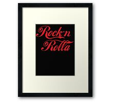 Rock N Rolla (Coca Cola) Framed Print