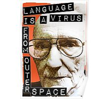 William S. Burroughs (Beat Writer) Poster