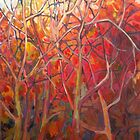 The Trees Aflame by Lyn Fabian