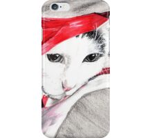 le chat dans le sac-the cat in the bag iPhone Case/Skin