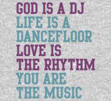 God is a DJ Kids Clothes