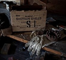 Plastic Shotgun Shells by PolarityPhoto
