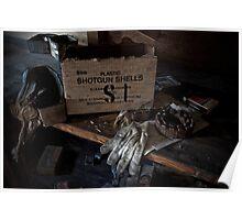 Plastic Shotgun Shells Poster