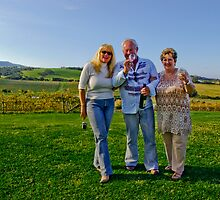 Club 46 at Gerringong's Crooked River Winery by Vanessa Pike-Russell