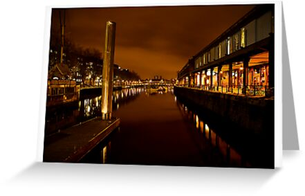 Bristol Harbour by Alan Watt