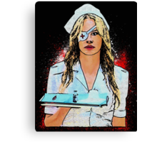 Elle Driver (Kill Bill Inspired) Canvas Print