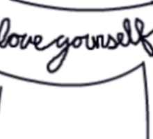 Love Yourself Kitty Sticker
