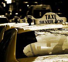 Taxi line by Wanagi Zable-Andrews