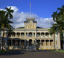 I'olani Palace, Hawaii by Tana Lee  Rebhan
