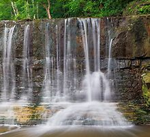 Indiana's Anderson Falls by Kenneth Keifer