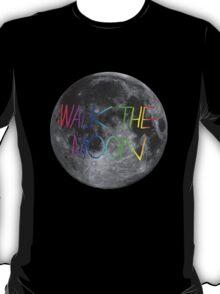Walk The Moon- rainbow text T-Shirt