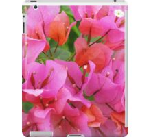 Pink Bougainvillea iPad Case/Skin