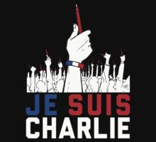 Je Suis Charlie shirt, sweatshirt and more by Quik86