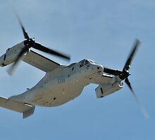 MV-22 Osprey by Eleu Tabares