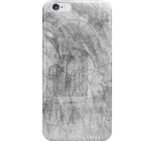 The Atlas Of Dreams - Color Plate 36 b&w version iPhone Case/Skin