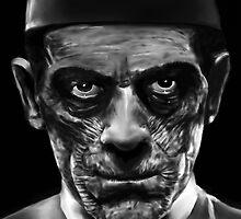 "Boris Karloff as Ardeth Bey from ""The Mummy"" by scottra"