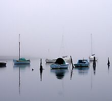 Fog Over The Bay by Kathryn Potempski