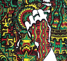 Rasta Vibrations Sticker