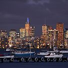 Williamstown twilight by Luke Tscharke