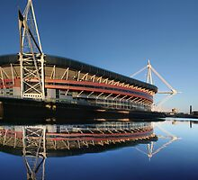 Millennium Stadium, Cardiff, Wales by Anthony Thomas