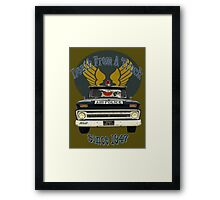 Air Force Peacekeepers: Death From A Truck Framed Print
