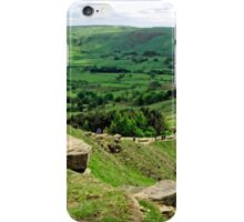 South from the Summit of Back Tor iPhone Case/Skin
