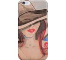 Baby..., Can I Leave my Hat on? iPhone Case/Skin