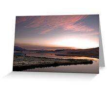 Frosty Drakensberg sunrise Greeting Card