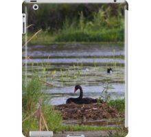 Black Swan Nesting iPad Case/Skin