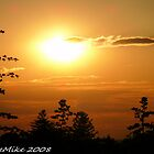 #372              Silhouettes At Sunset by MyInnereyeMike