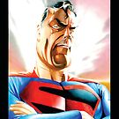 Caricatura de Superman by Julio Andrés  López Behety