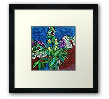 Still Life with Honeysuckle Framed Print