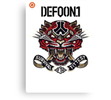 Defqon. 1 2014 - Survival of the Fittest! Canvas Print