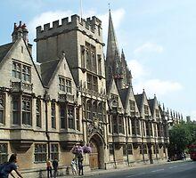Street of Oxford by Hannah Grubb
