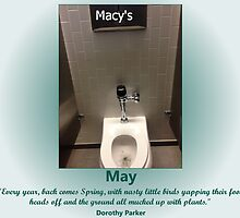 Toilets of New York 2015 May - Macy's by newbs