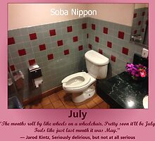 Toilets of New York 2015 July - Soba Nippon by newbs