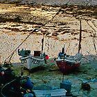 Sennen Boats by Tainia Finlay