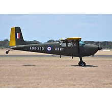 Cessna 180, Point Cook Airshow, Australia 2014 Photographic Print
