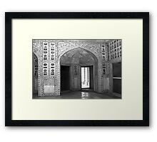 Imperial Enclosure Red Fort - New Delhi - India Framed Print