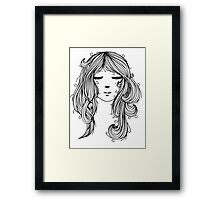 Peaceful Mind Framed Print