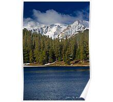 Morning Along Echo Lake Poster