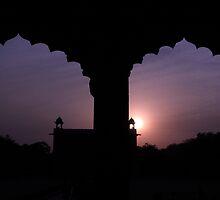 Red Forth Arches - New Delhi - India by aidan  moran