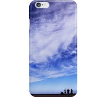 Blue skies and beautiful clouds iPhone Case/Skin