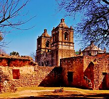 Mission Concepcion, San Antonio, Tx by MKWhite