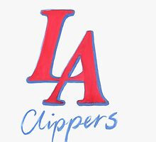 CLIPPERS HAND-DRAWING DESIGN by nbatextile