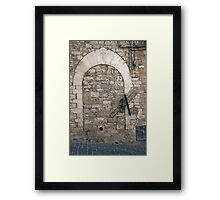 Once A Door Framed Print