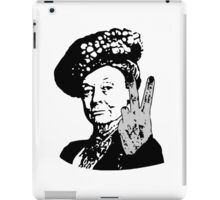 If you may Your Majesty iPad Case/Skin