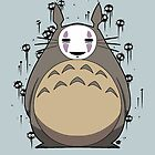 Totoro No Face by crabro