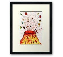 Desserts Erupt~~ Framed Print